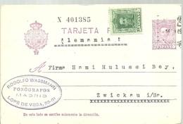 E.P  1929  MADRID A ALEMANIA - 1850-1931