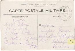 A2 / Carte Postale Militaire 1915 / Troupes En Campagne / Frouard 54 / 84 Valréas Vaucluse - 1914-18