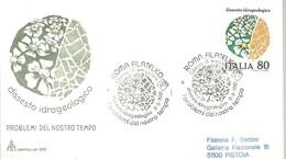 FDC ITALIA 1981 - Protección Del Medio Ambiente Y Del Clima