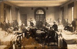 Thématiques 2018 Commémoration Fin De Guerre 1914 1918 Cp Photo Hopital A Identifié - War 1914-18