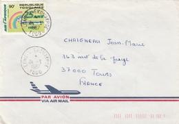 Lomé Nyekonakpoe 1987 - Lettre Brief Cover - Togo (1960-...)