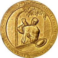 Belgique, Médaille, Ligue Nationale Des Patrons Boulangers, 1936, TTB, Gilt - Belgique