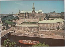 Copenhagen - Christiansborg Palace With Palace Yard And The Riding Ground - CANAL BOAT Kanalrundfart - (DK.) - Denemarken