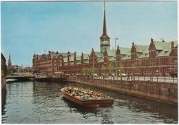 Copenhagen - Die Börse / The Stock Exchange  - CANAL BOAT Kanalrundfart - (DK.) - Denemarken