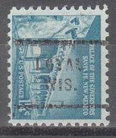 USA Precancel Vorausentwertung Preo, Locals Wisconsin, Loyal 712 - Vereinigte Staaten