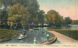 80 AMIENS LES HORTILLONNAGES L'ILE ROBINSON - BARQUES LL AA 692 - Amiens