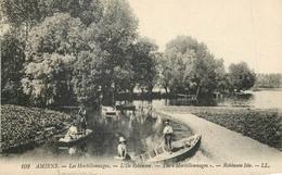 80 AMIENS LES HORTILLONNAGES L'ILE ROBINSON - BARQUES LL AA 694 - Amiens