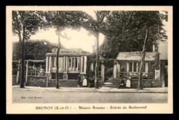 91 - BRUNOY - MAISON ARNOUX - ENTREE DU RESTAURANT - Brunoy