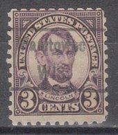 USA Precancel Vorausentwertung Preo, Locals Wisconsin, Manitowoc 584-458 - Vereinigte Staaten