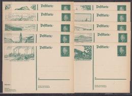 Dt.Reich Bildpostkarte MiNo. P 185 ** 10 Bilder Kpl. (70.-) - Alemania