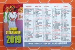 2019 Giovani Per Il Vangelo Calendario  Formato Piccolo - Calendari