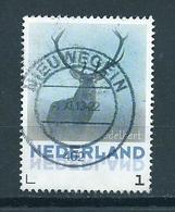Netherlands Edelhert,animals,tiere Used/gebruikt/oblitere - Periode 2013-... (Willem-Alexander)
