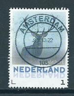 Netherlands Edelhert,animals,tiere Used/gebruikt/oblitere - Oblitérés