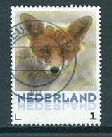 Netherlands Vos,fox,animals,tiere Used/gebruikt/oblitere - Periode 2013-... (Willem-Alexander)