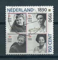 1990 Netherlands Four Queens Used/gebruikt/oblitere - 1980-... (Beatrix)