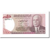 Billet, Tunisie, 1 Dinar, 1980, 1980-10-15, KM:74, SPL+ - Tunisie