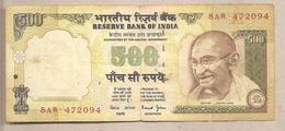 India - Banconota Circolata Da 500 Rupie P-93b - 2000 - India