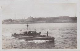 Alte Ansichtskarte Des U-Boot-Zerstöreres UZ 14 In Wilhelmshaven - Warships