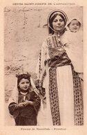 CPSM, Soeurs Saint Joseph De L'Apparition, Femme De Ramallah, Palestine - Missions
