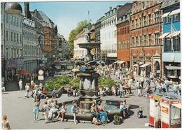 Copenhagen: Fountain With Storks / Storkespringvandet - (DK.) - Denemarken