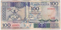 Somalia P 35 B - 100 Shilin Shillings 1987 - Fine+ - Somalie