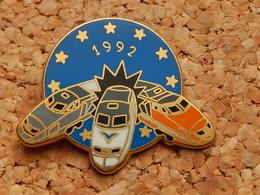 Pin's -  BALLARD - TGV 1992 - Numeroté 1657 - TGV