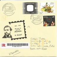 150 Anos Palavra Filatelia - Algarpex 2014 Praia Da Rocha Portugal Philately Philatélie Georges Herpin - Other