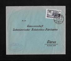 HEIMAT GLARUS →  Brief Gebr.J. & J.Spälti Netstal An Schw.Kräuterkäse-Fabrikanten Glarus 1931 - Briefe U. Dokumente
