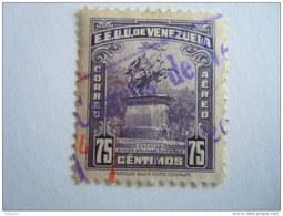 Venezuela 1947-49 Statue De  Bolivar Avion PA Yv 240 O Aériens Aéreo - Venezuela