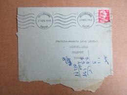 Enveloppe -  Cachet Villeurbanne - Postmark Collection (Covers)
