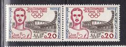 N° 1265 Jeux Olympique De Rome: Une Paire De 2 Timbres Neuf Impeccable - France