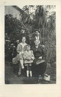 PHOTOGRAPHIE  Garde Chasse Et Famille    2scans - Photographie