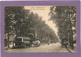 75 PARIS 19e / Avenue Jean-Jaurés / Autobus / Attelages. - Arrondissement: 19