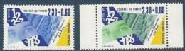 """FR YT 2639 & 2640 """" Journée Du Timbre """" 1990 Neuf** - France"""