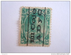 Venezuela 1882 Timbre Fiscaux-postaux Bolivar Yv 33 O - Venezuela