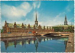Copenhagen - The Exchange And Christiansborg Palace   - (1962) - (DK.) - Denemarken