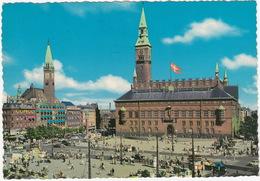 Copenhagen - Radhuspladsen / Town Hall Square  - (1966) - (DK.) - Denemarken
