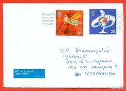 Great Britain 1999.Bicycle. The Envelope Passed Mail. Airmail. - 1952-.... (Elizabeth II)