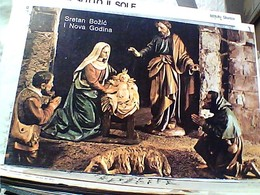 NATALE  1979 PRESEPE SRETAN BOZIC  NOVA  GODINA S1979 GW5363 - Natale