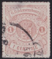 Luxemburg     .     Yvert  .     16        .        O    .          Gebruikt   .     /   .     Cancelled - 1859-1880 Wapenschild