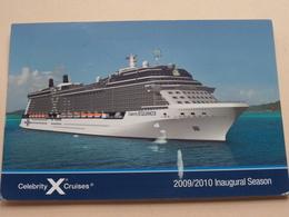 Celebrity EQUINOX ( Cruises ) Anno 2009/10 ( Zie/voir Photo ) ! - Paquebots