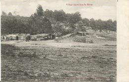Carte Postale Soldats Français, Village Nègre Dans La Meuse / 14-18 / WW1 / POILU - 1914-18