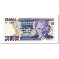 Billet, Turquie, 500,000 Lira, L.1970, 1970-10-14, KM:208, NEUF - Turquie