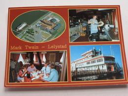 MARK TWAIN - LELYSTAD : Ligplaats Oostvaardersdijk () Anno ? ( Zie/voir Photo ) ! - Bateaux