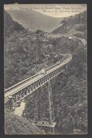 Brasile, Molto Rara, FERROVIA, Animata: Estrada De Ferro Do Paraná, Brazil. Ponte São Joãa. FP - Brasile