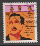 D 1418) IRAK 1977 Mi# 928 O: Who Killed Junblatt? Nichts Sagen Sehen Hören - Irak