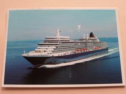 QUEEN ELIZABETH Cunard ( Ocean Books ) Anno 2011 Stavanger ( Zie/voir Photo ) ! - Paquebots
