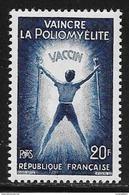 N° 1224  FRANCE  -  NEUF  -  VAINCRE LA POLIOMELYTE   -  1959 - Francia