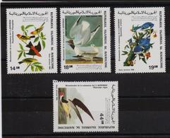 Mauritania 1985, Birds, Complete Set, MNH. Cv 6,50 Euro - Mauretanien (1960-...)