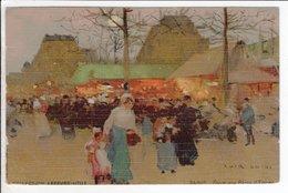 Cpa Loir Luigi / Collection Lefebvre Utile / Paris, Foire Aux Pains D'épices - Illustrateurs & Photographes